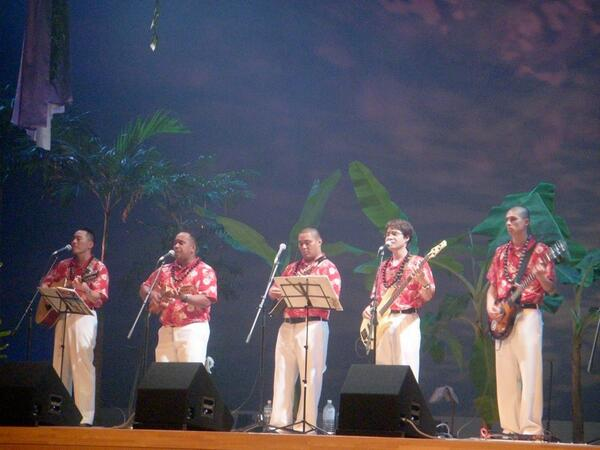 hawaiian band